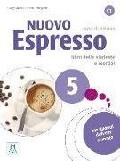 Cover-Bild zu Nuovo Espresso 5 C1- einsprachige Ausgabe. Buch mit Audio-CD von Massei, Giorgio
