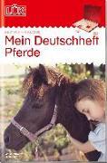 Cover-Bild zu LÜK. mein Pferde-Deutschheft 4. Klasse