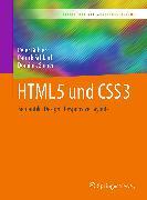 Cover-Bild zu HTML5 und CSS3 (eBook) von Bühler, Peter