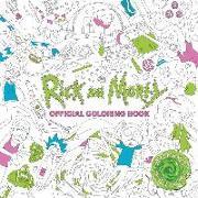 Cover-Bild zu Titan Books: Rick and Morty Official Coloring Book