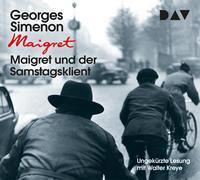 Cover-Bild zu Maigret und der Samstagsklient von Simenon, Georges