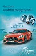 Cover-Bild zu Formeln Kraftfahrzeugtechnik von Fischer, Richard