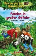 Cover-Bild zu Pope Osborne, Mary: Das magische Baumhaus 46 - Pandas in großer Gefahr