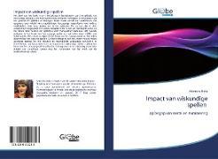 Cover-Bild zu Beka, Arbresha: Impact van wiskundige spellen