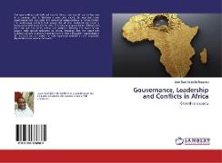 Cover-Bild zu Beka Be Nguema, Jean-Noël: Gouvernance, Leadership and Conflicts in Africa