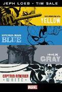 Cover-Bild zu Loeb, Jeph: Marvel Knights: Jeph Loeb & Tim Sale: Yellow, Blue, Gray & W