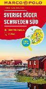 Cover-Bild zu MARCO POLO Regiokarte S Schweden Süd 1:325 000. 1:325'000