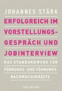 Cover-Bild zu Erfolgreich im Vorstellungsgespräch und Jobinterview von Stärk, Johannes