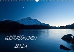 Cover-Bild zu Mathis, Armin: Graubünden - Die schönsten BilderCH-Version (Wandkalender 2021 DIN A3 quer)
