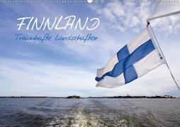 Cover-Bild zu Viola, Melanie: FINNLAND - Traumhafte Landschaften (CH - Version) (Wandkalender 2021 DIN A2 quer)