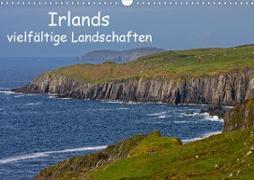 Cover-Bild zu Uppena, Leon: Irlands vielfältige Landschaften (Wandkalender 2021 DIN A3 quer)