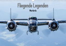 Cover-Bild zu Engelke, Björn: Fliegende Legenden - Warbirds (Wandkalender 2021 DIN A3 quer)