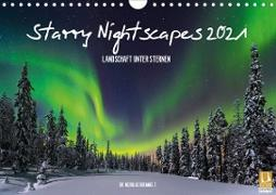 Cover-Bild zu Nicholas Roemmelt: Starry Nightscapes 2021 (Wandkalender 2021 DIN A4 quer)