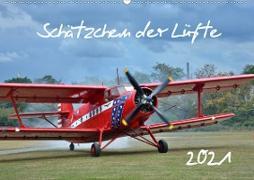 Cover-Bild zu Grobelny, Renate: Schätzchen der Lüfte (Wandkalender 2021 DIN A2 quer)