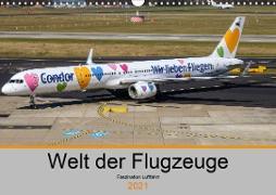 Cover-Bild zu Liongamer1, K. A.: Welt der Flugzeuge - Faszination Luftfahrt 2021 (Wandkalender 2021 DIN A3 quer)