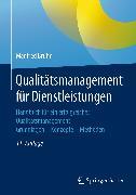 Cover-Bild zu Bruhn, Manfred: Qualitätsmanagement für Dienstleistungen (eBook)