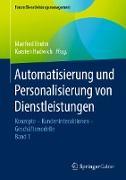Cover-Bild zu Bruhn, Manfred (Hrsg.): Automatisierung und Personalisierung von Dienstleistungen (eBook)