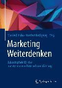 Cover-Bild zu Bruhn, Manfred (Hrsg.): Marketing Weiterdenken (eBook)