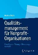 Cover-Bild zu Bruhn, Manfred: Qualitätsmanagement für Nonprofit-Organisationen (eBook)