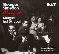 Cover-Bild zu Maigret hat Skrupel von Simenon, Georges