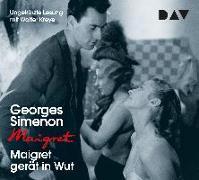 Cover-Bild zu Maigret gerät in Wut von Simenon, Georges