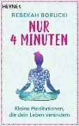 Cover-Bild zu Borucki, Rebekah: Nur vier Minuten