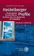 Cover-Bild zu Sonntag, Karlheinz (Hrsg.): Heidelberger Profile