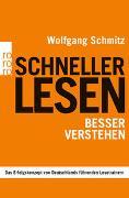 Cover-Bild zu Schneller lesen - besser verstehen von Schmitz, Wolfgang