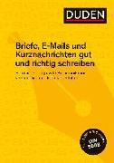 Cover-Bild zu Duden Ratgeber - Briefe, E-Mails und Kurznachrichten gut und richtig schreiben von Stephan, Ingrid