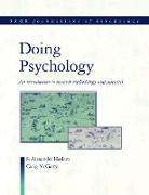Cover-Bild zu Haslam, S. Alexander: Doing Psychology