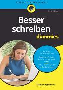 Cover-Bild zu Besser schreiben für Dummies von Hoffmann, Monika