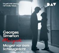 Cover-Bild zu Maigret vor dem Schwurgericht von Simenon, Georges