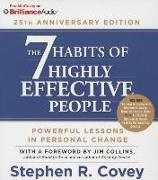 Cover-Bild zu Covey, Stephen R.: The 7 Habits of Highly Effective People: 25th Anniversary Edition
