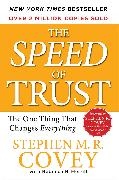 Cover-Bild zu Covey, Stephen M.R.: The SPEED of Trust