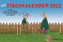 Cover-Bild zu Stein, Uli: Uli Stein - Tischkalender 2022: Monatskalender zum Aufstellen