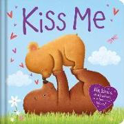 Cover-Bild zu Igloobooks: Kiss Me: Padded Board Book