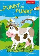 Cover-Bild zu Appelmann, Karl-Heinz (Illustr.): Punkt zu Punkt 1 bis 100 (Kuh)