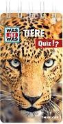 Cover-Bild zu Tessloff Verlag Ragnar Tessloff GmbH & Co.KG (Hrsg.): WAS IST WAS Quiz Tiere