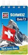 Cover-Bild zu Tessloff Verlag Ragnar Tessloff GmbH & Co.KG (Hrsg.): WAS IST WAS Quiz Schweiz