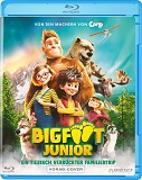 Cover-Bild zu Ben Stassen, Jeremy Degruson (Reg.): Bigfoot Junior - Ein tierisch verrückter Familientrip BR