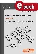 Cover-Bild zu Die schnelle Stunde Spanisch (eBook) von Stubenrauch-Böhme, Juliane