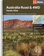 Cover-Bild zu Australia Road and 4WD handy atlas B5 spiral