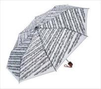 Cover-Bild zu Mini Travel Umbrella - Sheet Music white