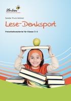 Cover-Bild zu Lese-Denksport von Thum-Widmer, Sandra