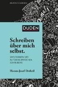 Cover-Bild zu Schreiben über mich selbst (eBook) von Ortheil, Hanns-Josef