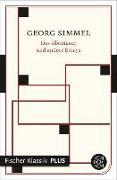 Cover-Bild zu Das Abenteuer und andere Essays (eBook) von Simmel, Georg