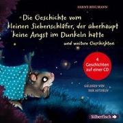 Cover-Bild zu Bohlmann, Sabine: Die Geschichte vom kleinen Siebenschläfer, der überhaupt keine Angst im Dunkeln hatte, Die Geschichte vom kleinen Siebenschläfer, der seine Schnuffeldecke nicht hergeben wollte, Gleich ist alles wieder gut, Das ist noch nicht gemütlich!