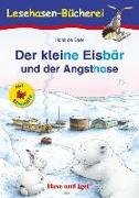 Cover-Bild zu Der kleine Eisbär und der Angsthase / Silbenhilfe von De Beer, Hans