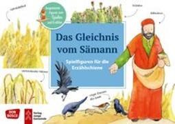 Cover-Bild zu Das Gleichnis vom Sämann. Spielfiguren für die Erzählschiene von Lefin, Petra (Illustr.)