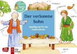 Cover-Bild zu Der verlorene Sohn. Spielfiguren für die Erzählschiene von Lefin, Petra (Illustr.)